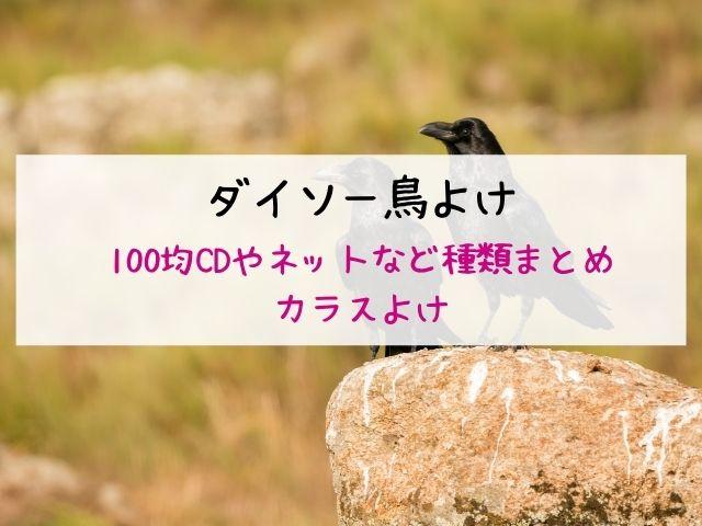 ダイソー鳥よけ