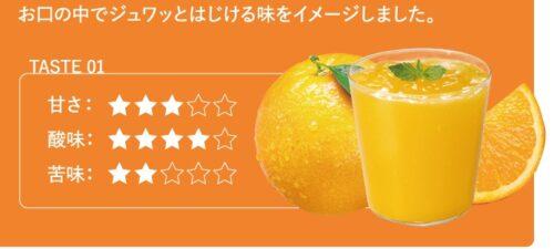 はぐみい朝摘みオレンジ味